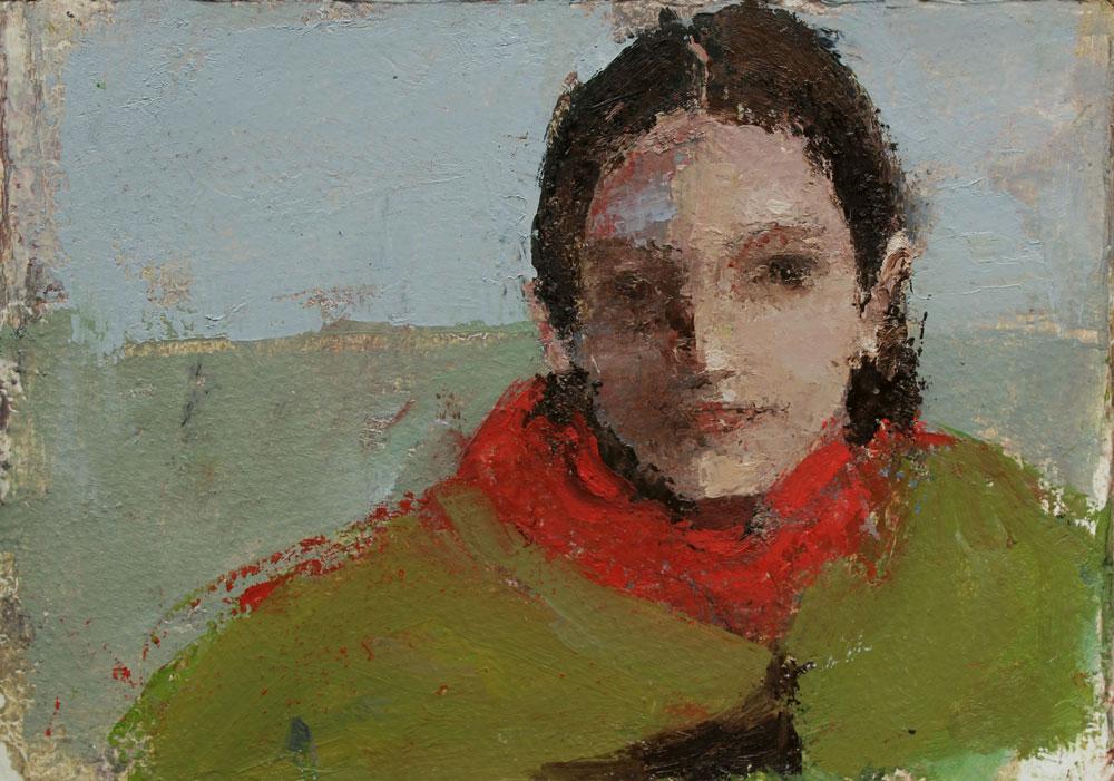 Chiara-in-green-blanket-with-red-hoodie